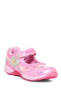 Disney Aurora Light-Up Mary Jane Sneaker (Little Kid)
