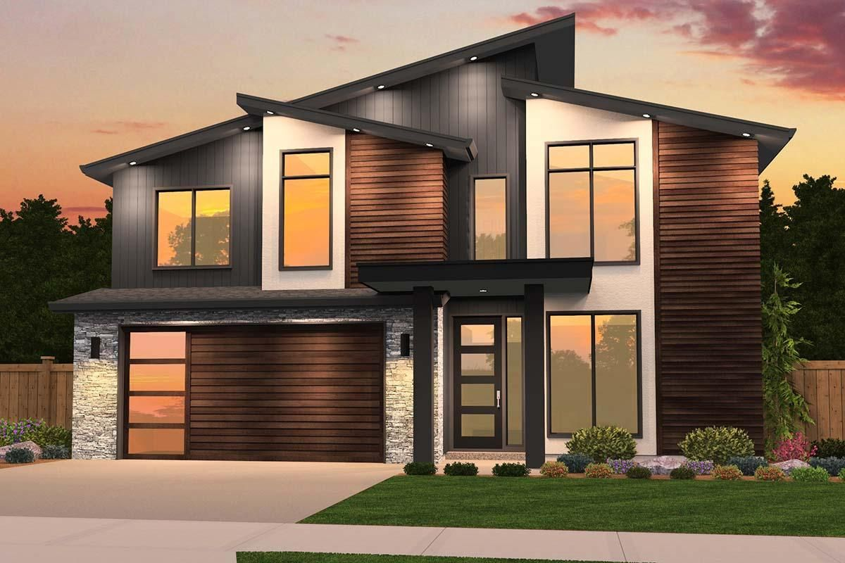 House Plan Square Feet Contemporary House Exterior Small Modern House Plans Modern House Plans
