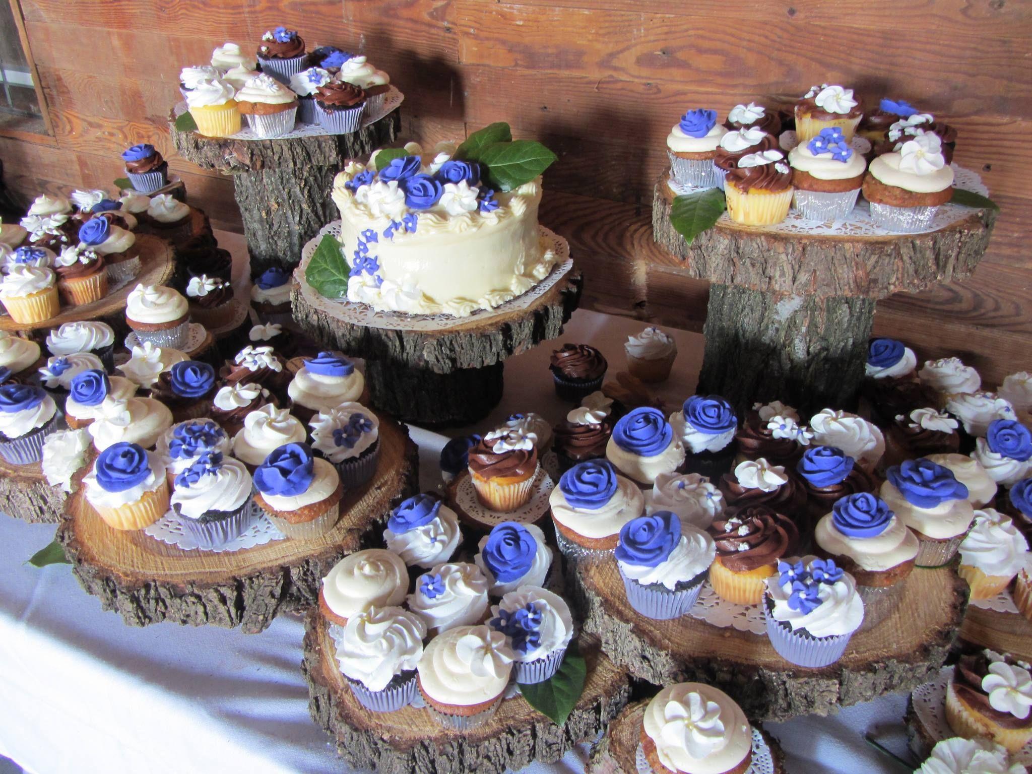 Wedding Cake Cupcake Ideas: Rustic Wedding Cupcakes