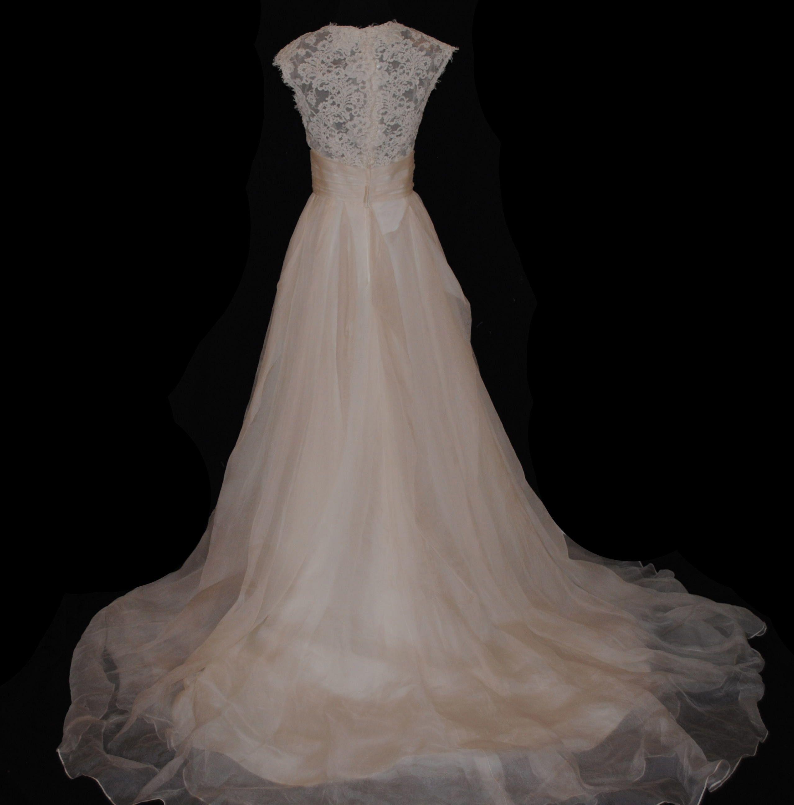 Wedding dress back  Grace  Watters back Fabulous Frocks Bridal  The Dress