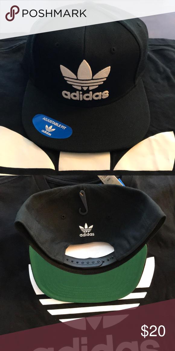 84c4ec3fe NWT adidas Trefoil SnapBack hat Brand new never worn adidas Trefoil ...