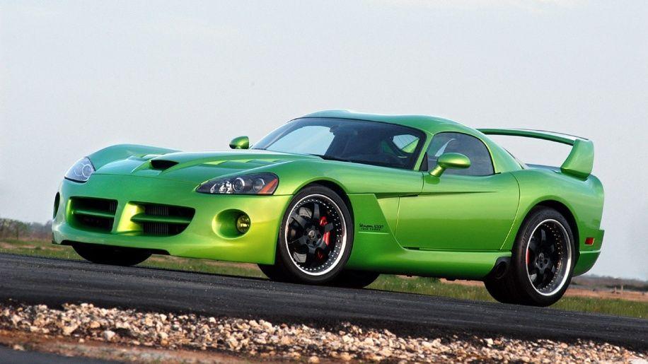 Snake Skin Green Hennessey Venom 1000tt Up For Sale Dodge Viper Twin Turbo Hennessey