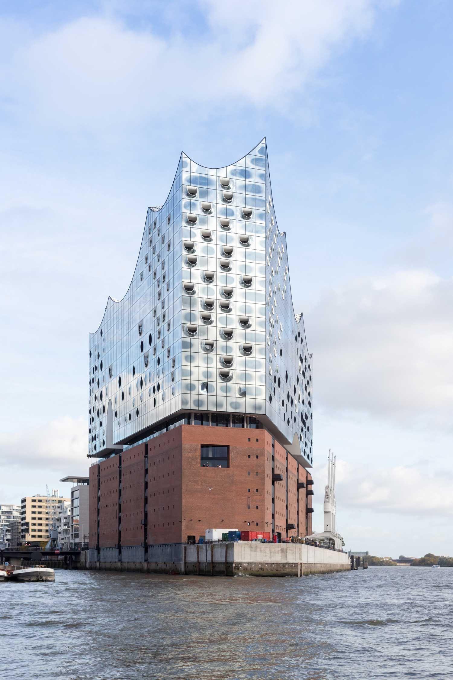 Elbphilharmonie Concert Hall By Herzog De Meuron Opens In Hamburg Architecture Hamburg Facade Architecture