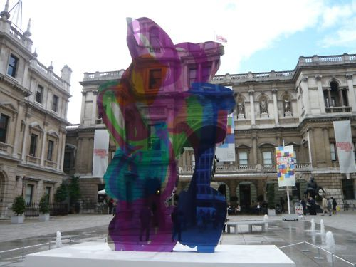 art-documents:  Jeff Koons at Royal Academy Summer Show in London