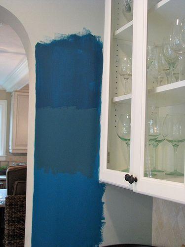 Benjamin Moore Deep Ocean My Favorite Blue Family Room