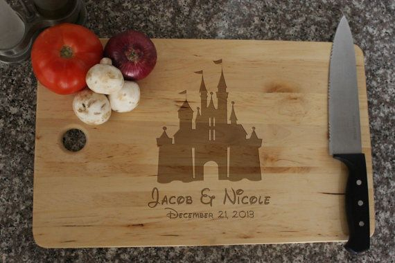 Personalized Princess Castle Silhouette Cutting by LetsEngrave