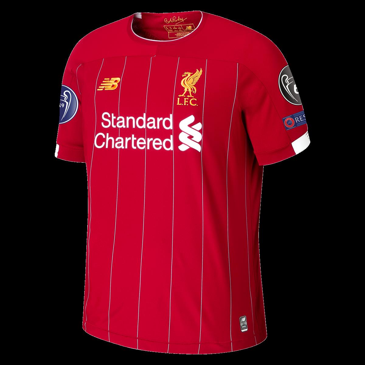New Balance Liverpool Home Ucl Jersey 19 20 3xl Ucl Jersey Jersey In 2020 Liverpool Trikot Liverpool Trikot