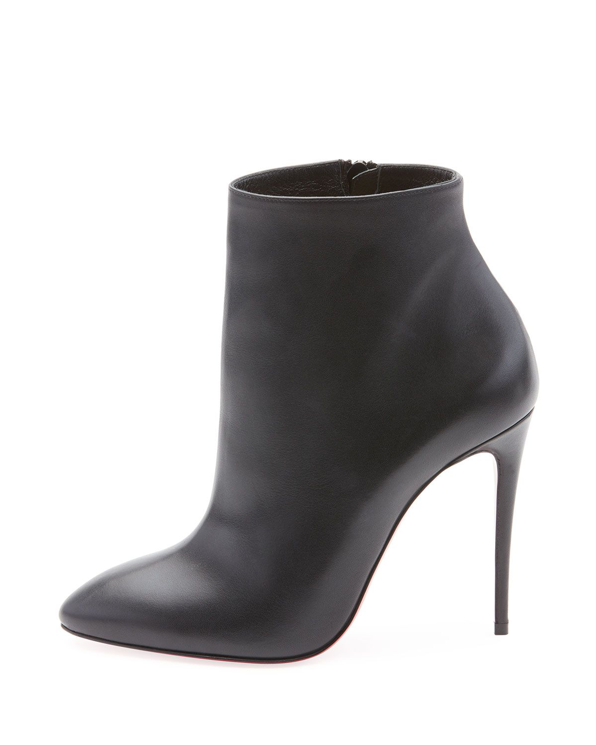 best loved 01e82 5ce3f Christian Louboutin Eloise Leather Red Sole Booties ...