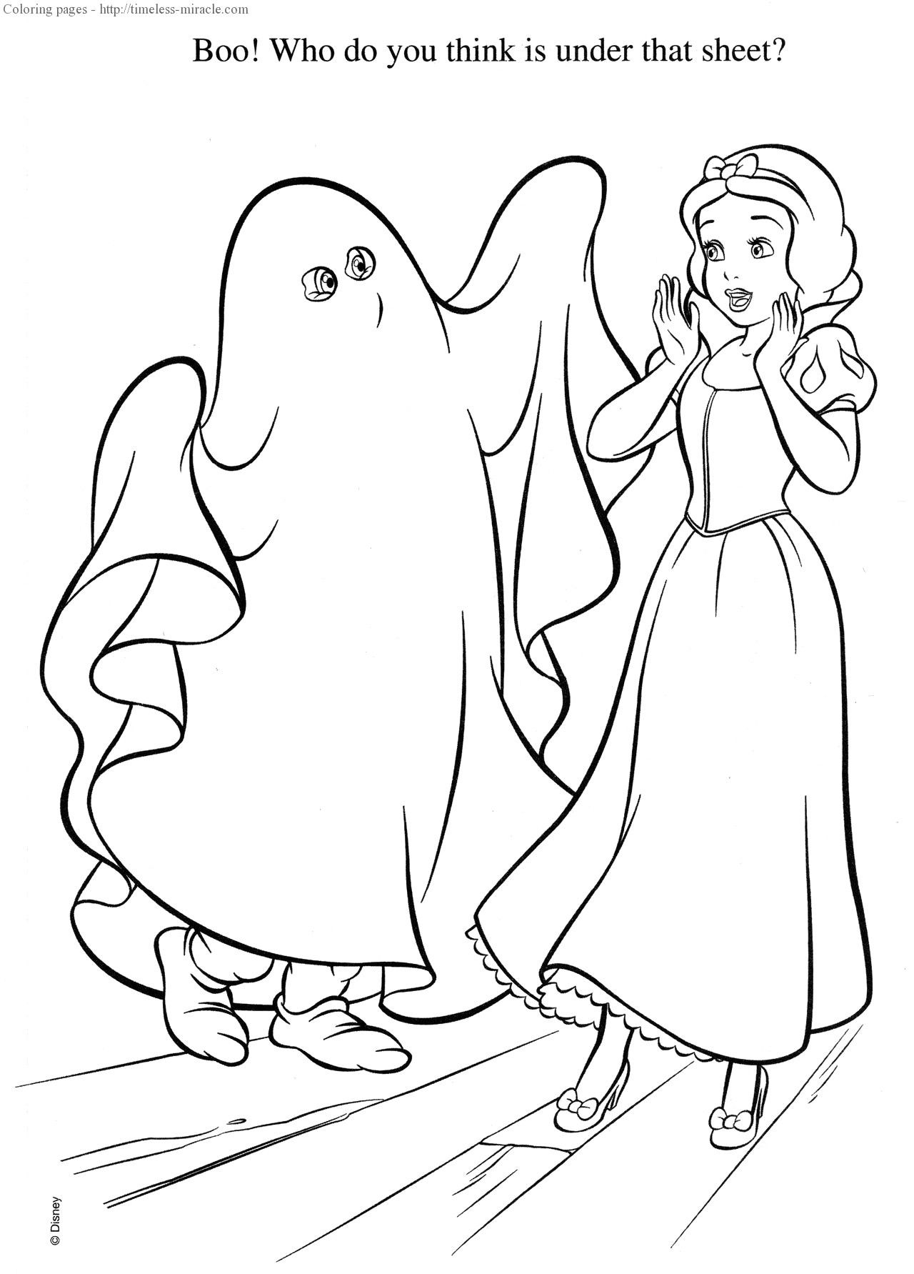 Princess Halloween Coloring Sheets New Disney Princess Halloween