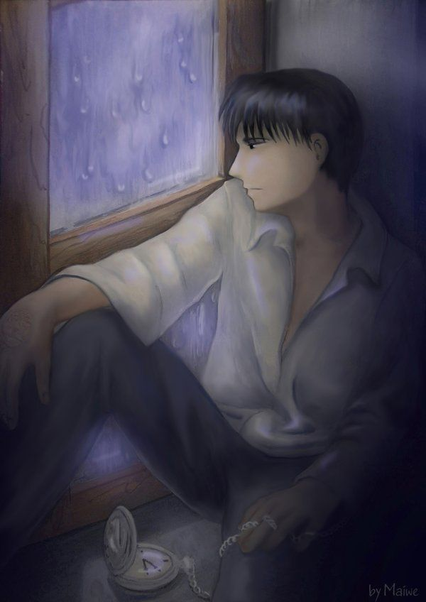 Rain Outside The Window by Maiwe.deviantart.com on ...