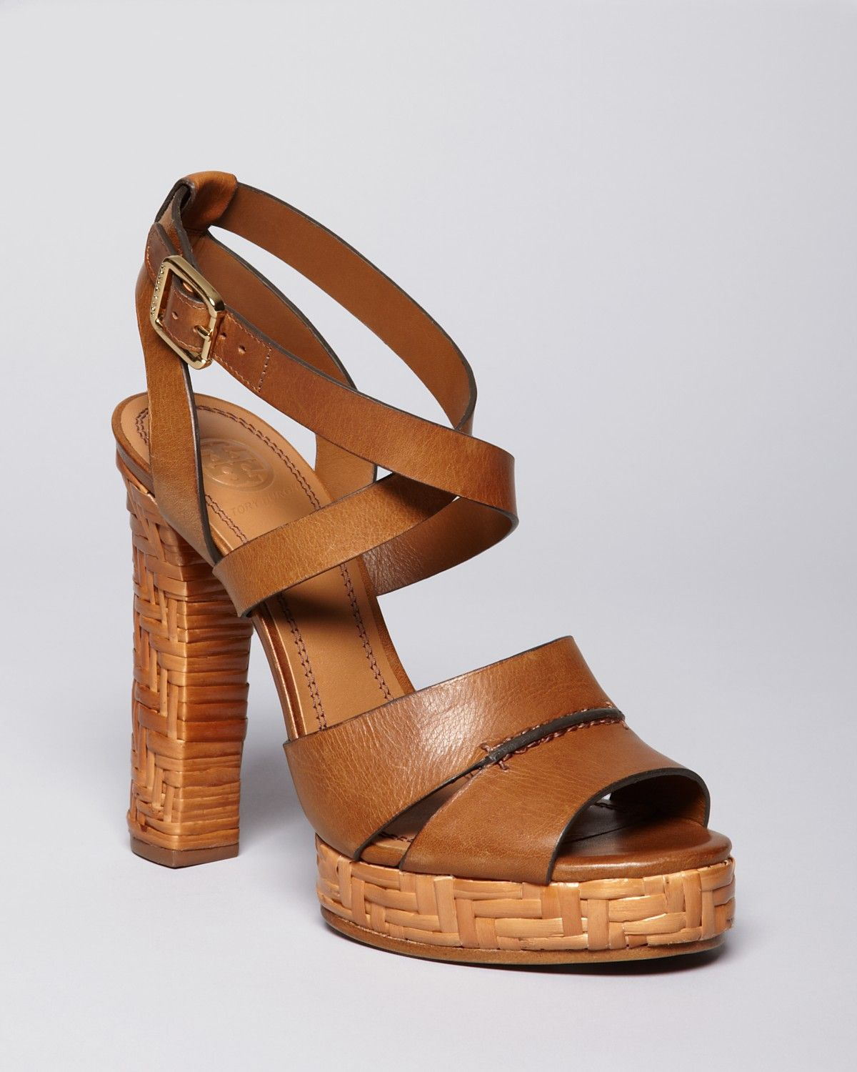 Tory Burch Vanetta Leather Sandals wholesale price 2014 online blEFf