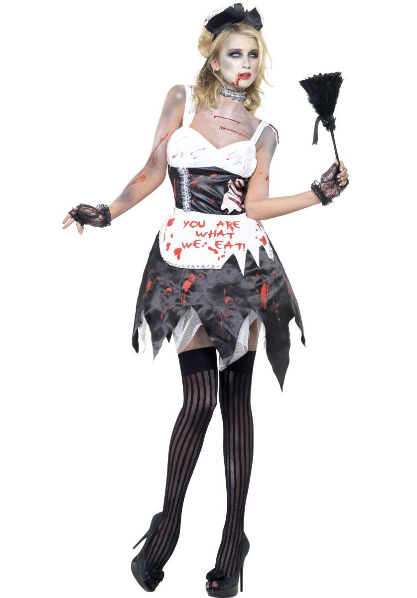 Zombie French Maid Costume Fever Sexy Fancy Dress Collection - Halloween  Costumes at Escapade™ UK - Escapade Fancy Dress on Twitter   Escapade UK 4fcce4aeb