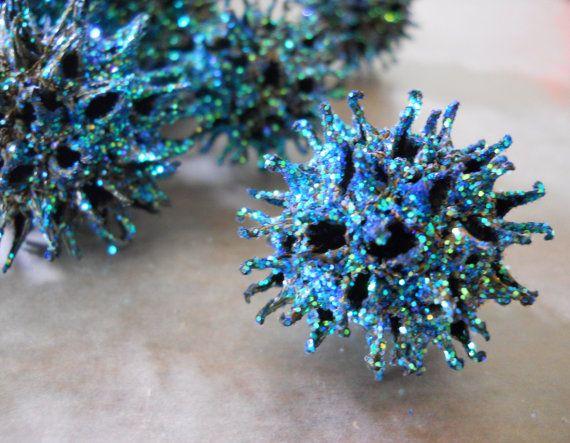 Uses For Sweet Gum Balls Items Similar To Sweet Gum Ball Glitter