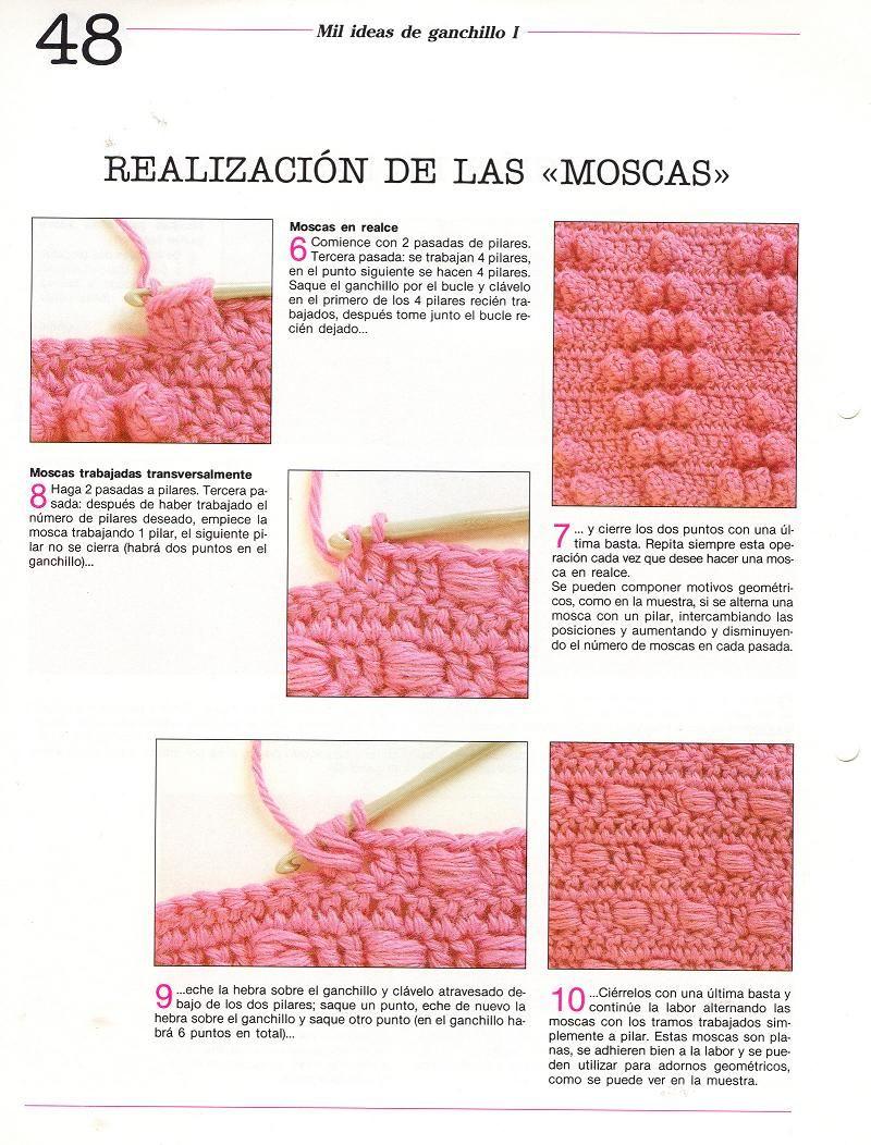 patrones asgaya: puntos crochet | CROCHET - Técnica | Pinterest ...