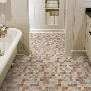 Bathroom Flooring Ideas For A Small Bathroom  Httpfighting Interesting Flooring For Bathrooms Design Inspiration