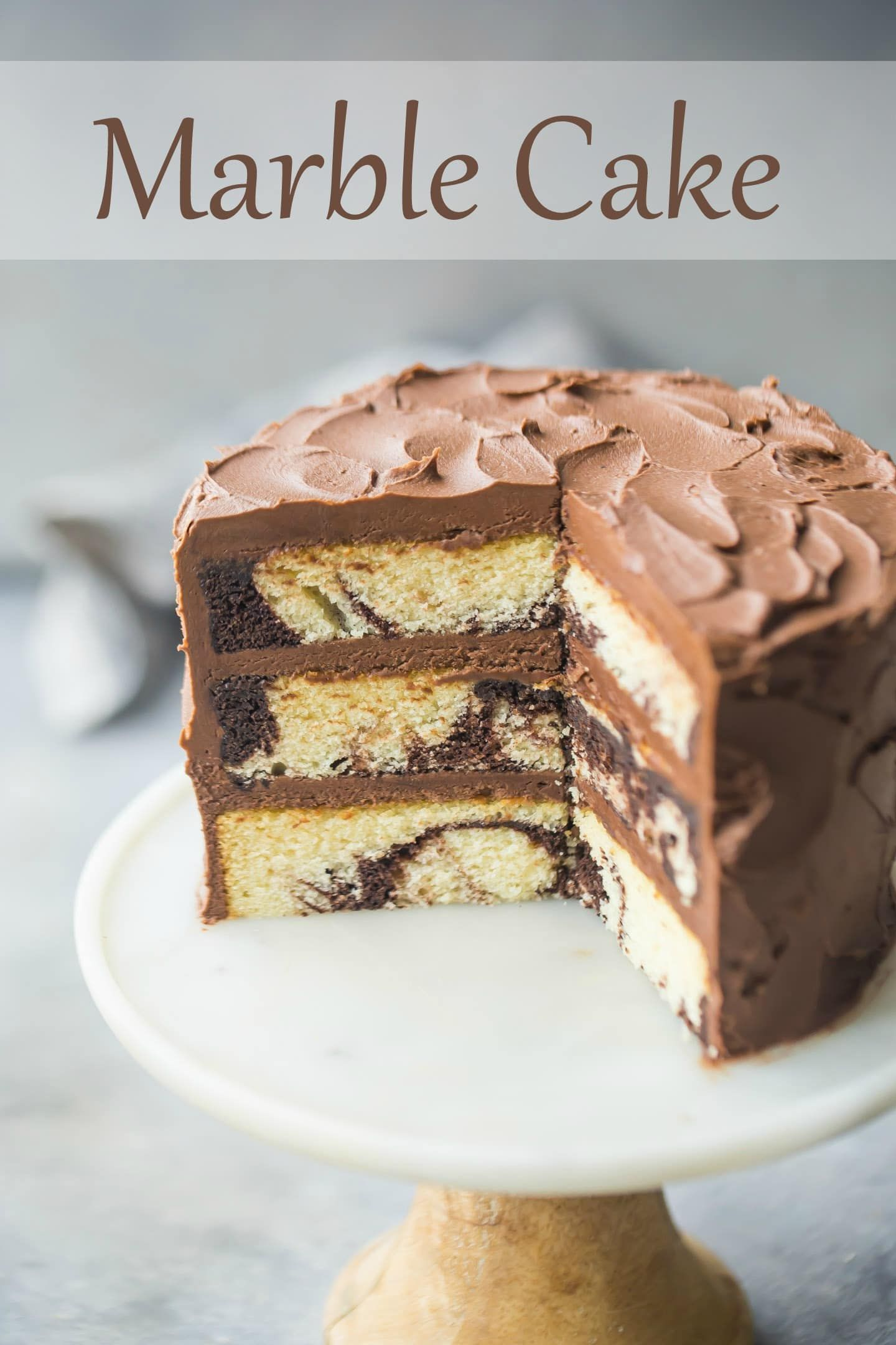 Marble Cake Recipe Baking A Moment Recipes Dessert