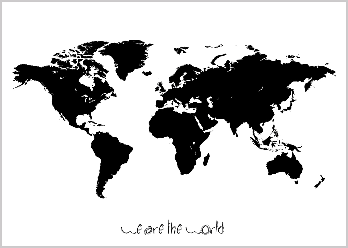 Explore Map Quiz World Map Art and