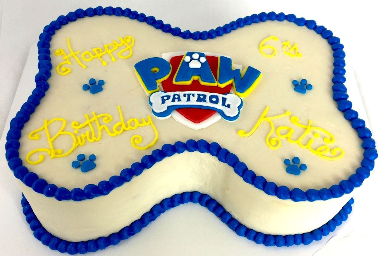 Paw Patrol Birthday Cake Pawpatrol Puppies Atlanta