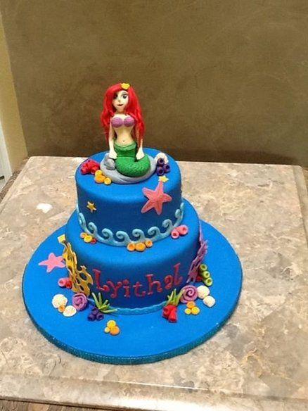 Mermaid Cake Little Mermaid Cakes Mermaid Cakes Cake