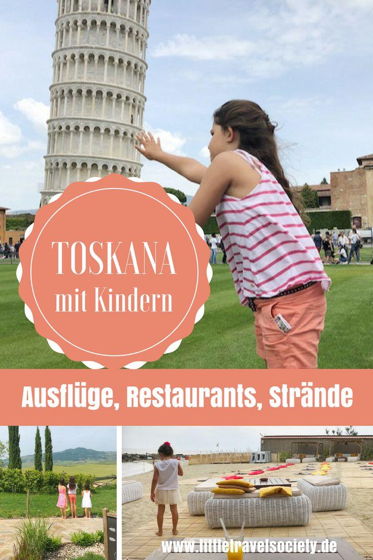 Toskana mit Kindern – Tipps für Strände, Familienhotels, Restaurants!
