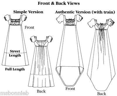 Empire Dresses Patterns