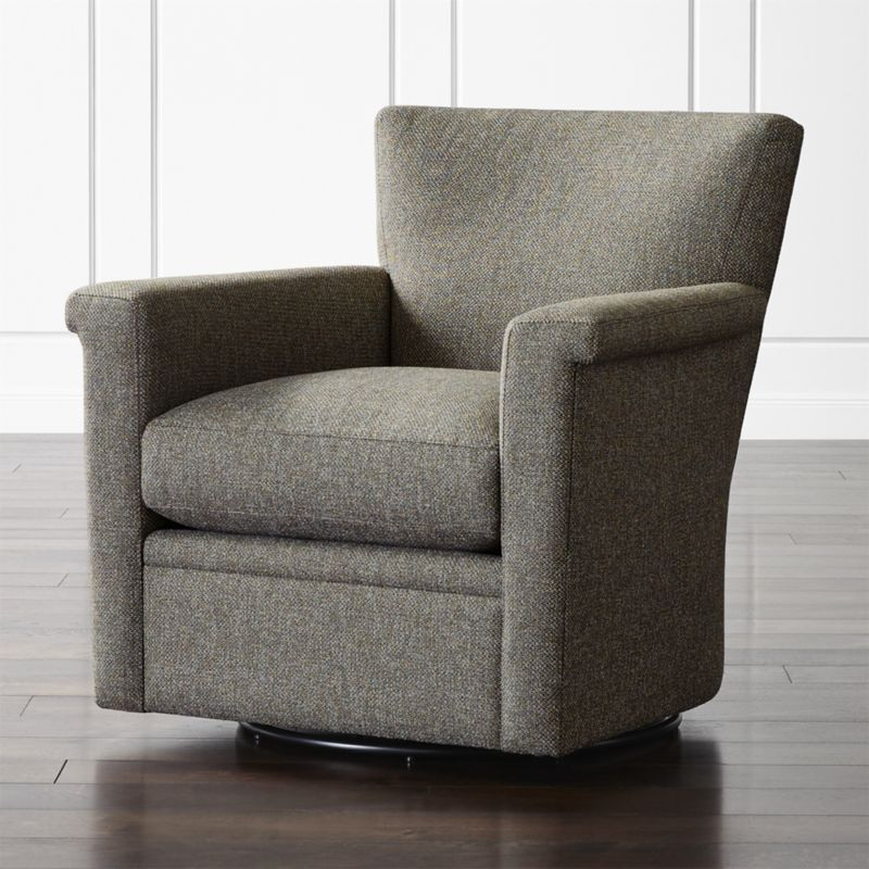 Declan 360 Swivel Chair Swivel chair Crates and Barrels