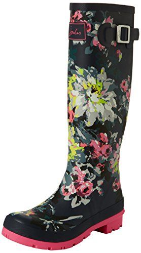 Joules Women's Welly Print Rain Boot *** Find out more about the great product at the image link.