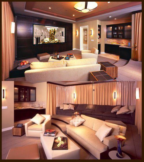 Home Media room