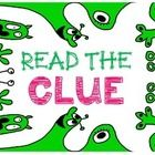 """Freebie:  Read the Clue - a reminder poster for kids to read the question! We have been using a common phrase heard on the Amazing Race """"Read the Clue"""""""