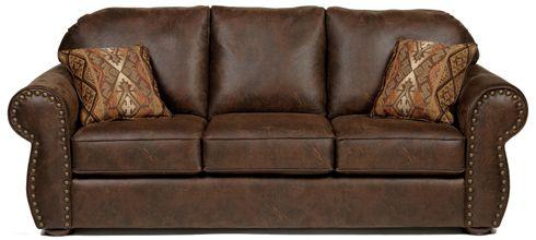 Merveilleux Bradleyu0027s Furniture Etc.   Stanton Fabric And Leather Sofas