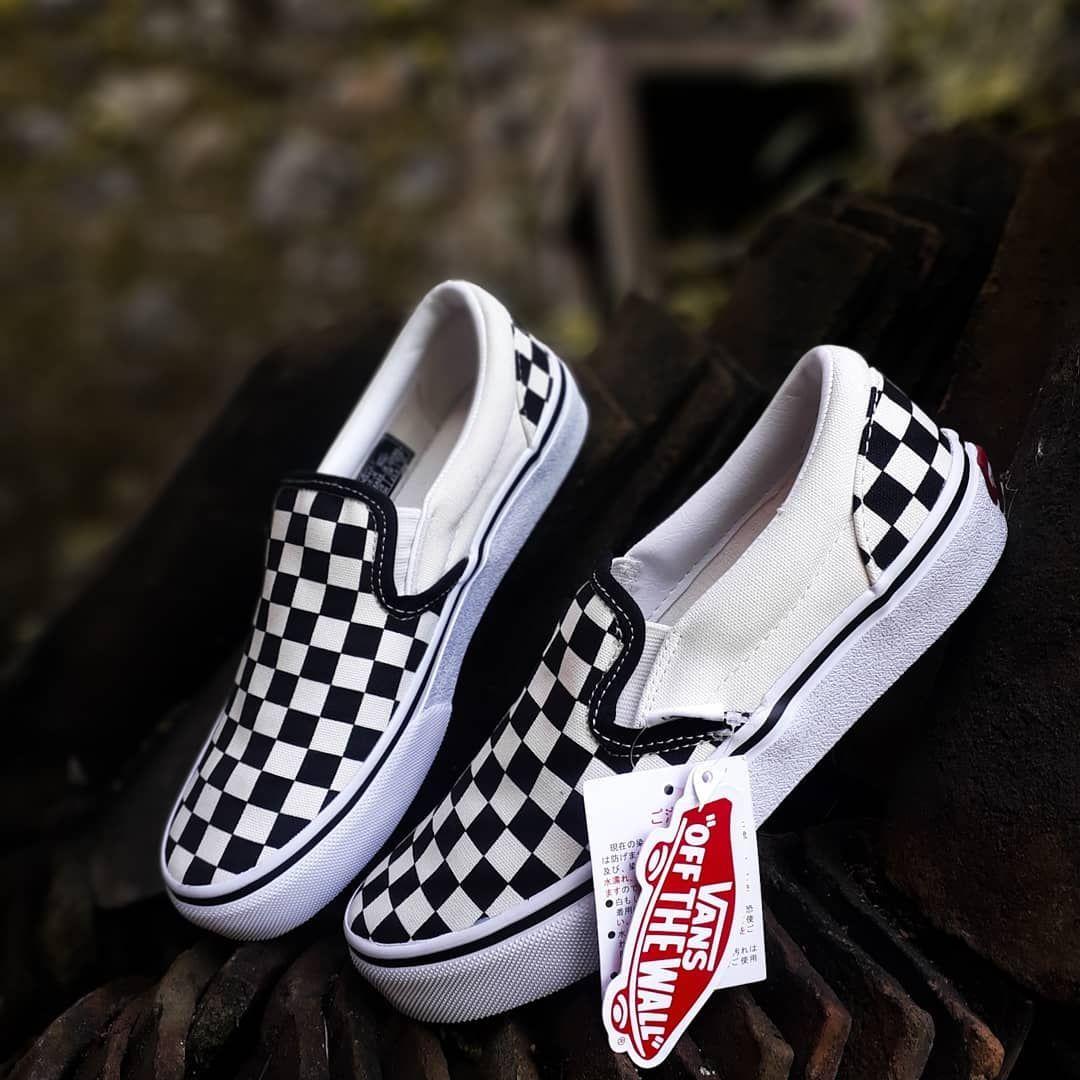 Vans Slip On Checkerboard Japan Market