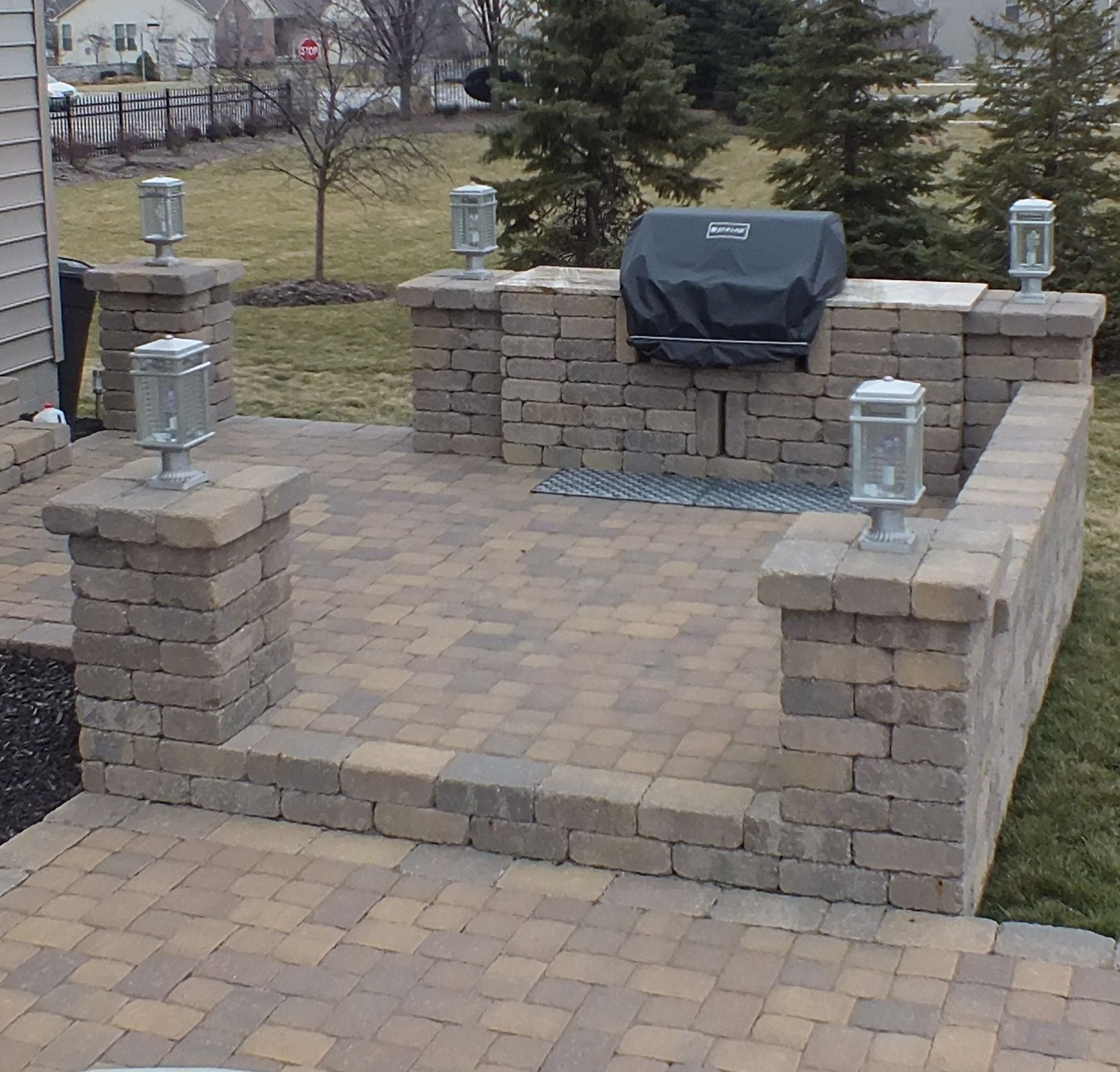 Backyard Grill area | Backyard, Outdoor living areas, Patio on Patio Grilling Area id=54108