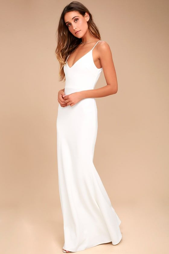c156bbf0841 Infinite Glory White Maxi Dress 2