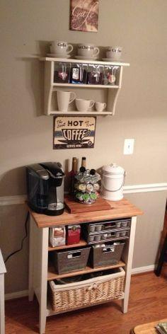 Ikea Coffee Bar Google Search Diy Coffee Bar Coffee Bar Home Diy Coffee Station