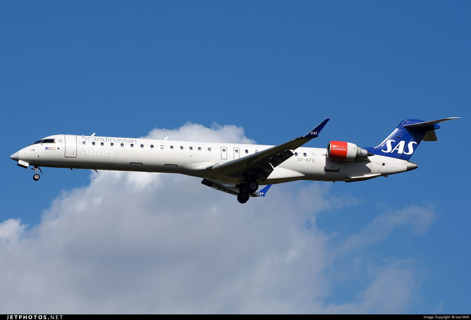 High Quality Photo Of Oy Kfe Cn 15224 Scandinavian Airlines Sas Bombardier Crj 900 By Sas1965 Sas Aviation Photo Online