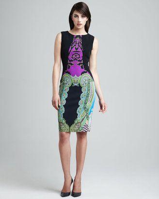 Etro Paisley Panel Dress Etro