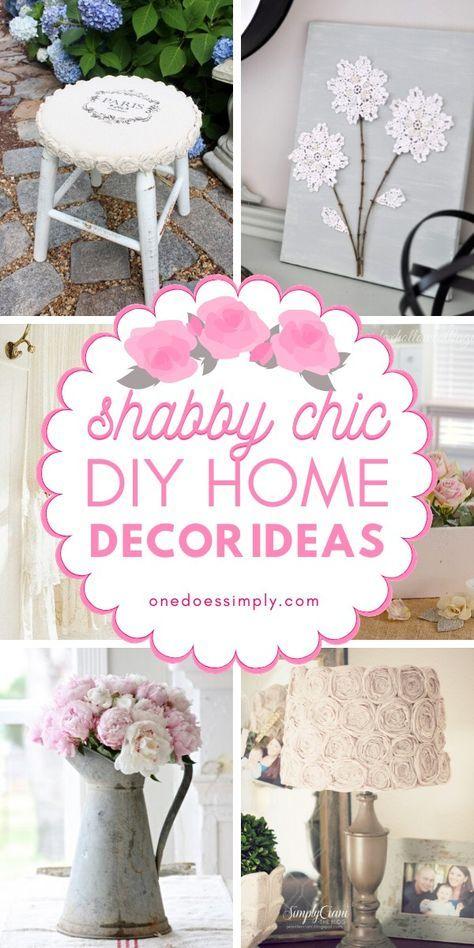 Photo of Diese Shabby Chic Wohnkultur Ideen sind so einfach! Sie können diese Ideen kostengünstig basteln …