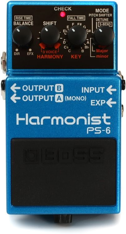 3 Voice Guitar Harmony Effects Pedal With Harmony Pitch Shifter Detune And S Bend Super Bend Modes Expression Pedal Contr Boss Pedals Guitar Pedals Pedal