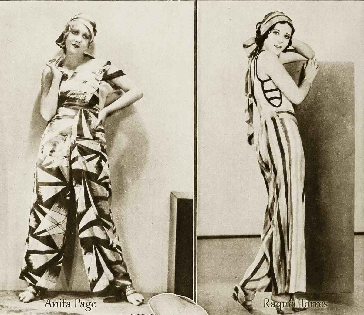 1930s-Fashion---Pyjama-Belles-in-November-1930 | Fashion 1930\'s ...