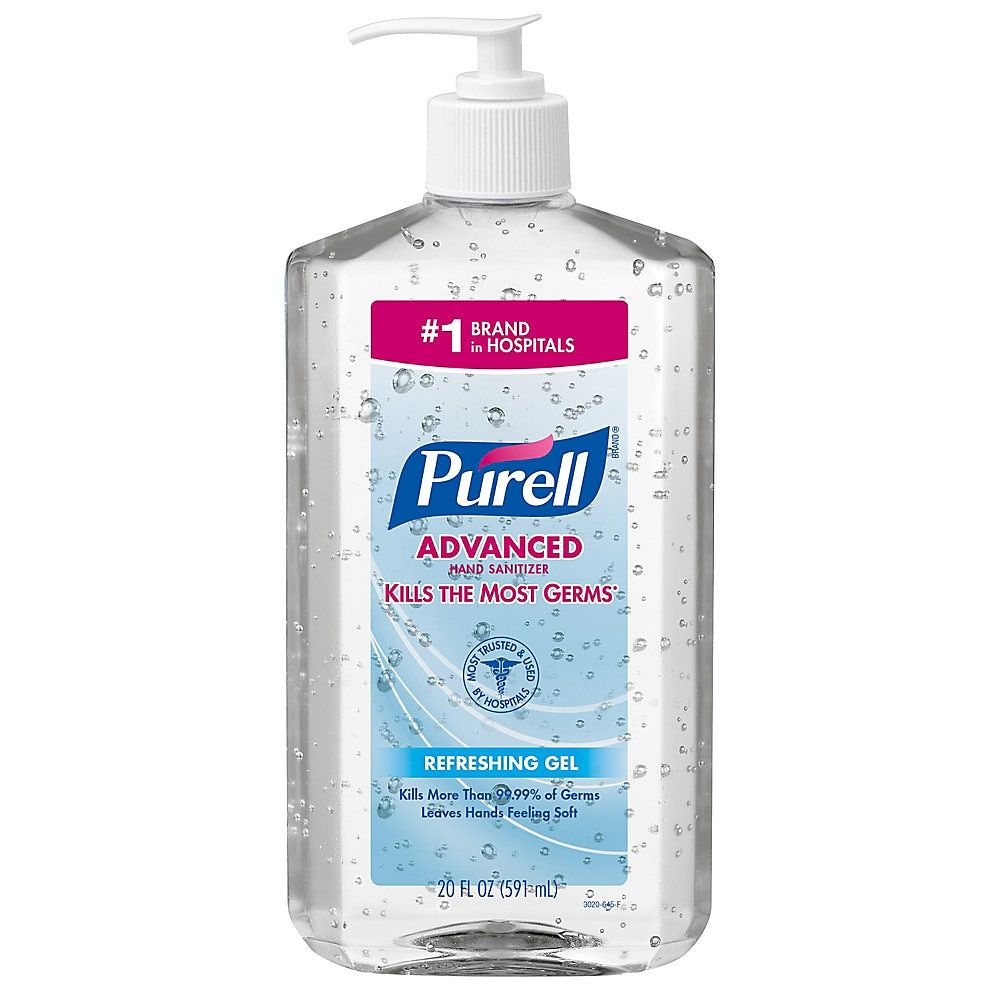 Purell Advanced Refreshing Gel Hand Sanitizer 20 Fl Oz 2ct