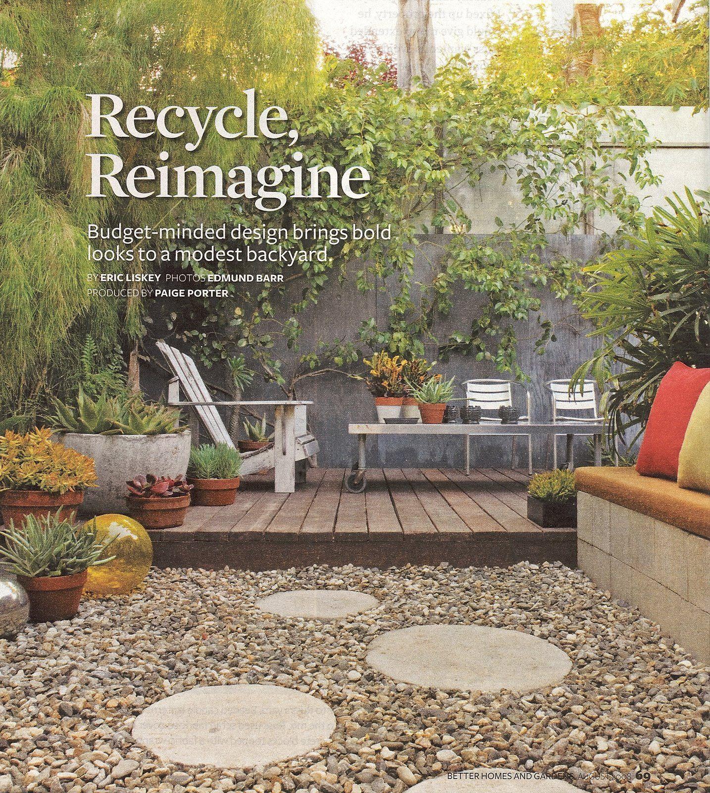 Low-Maintenance Backyard | Low maintenance backyard ... on Low Maintenance Backyard Designs  id=85247