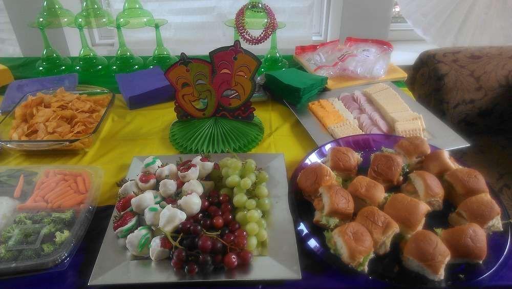 Louisiana Mardi Gras Baby Shower Party Ideas   Photo 9 of 19   Catch My Party