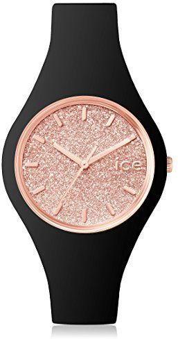 ICE-Watch Glitter Women's Quartz Watch with Pink Dial Analogue Display - 1346