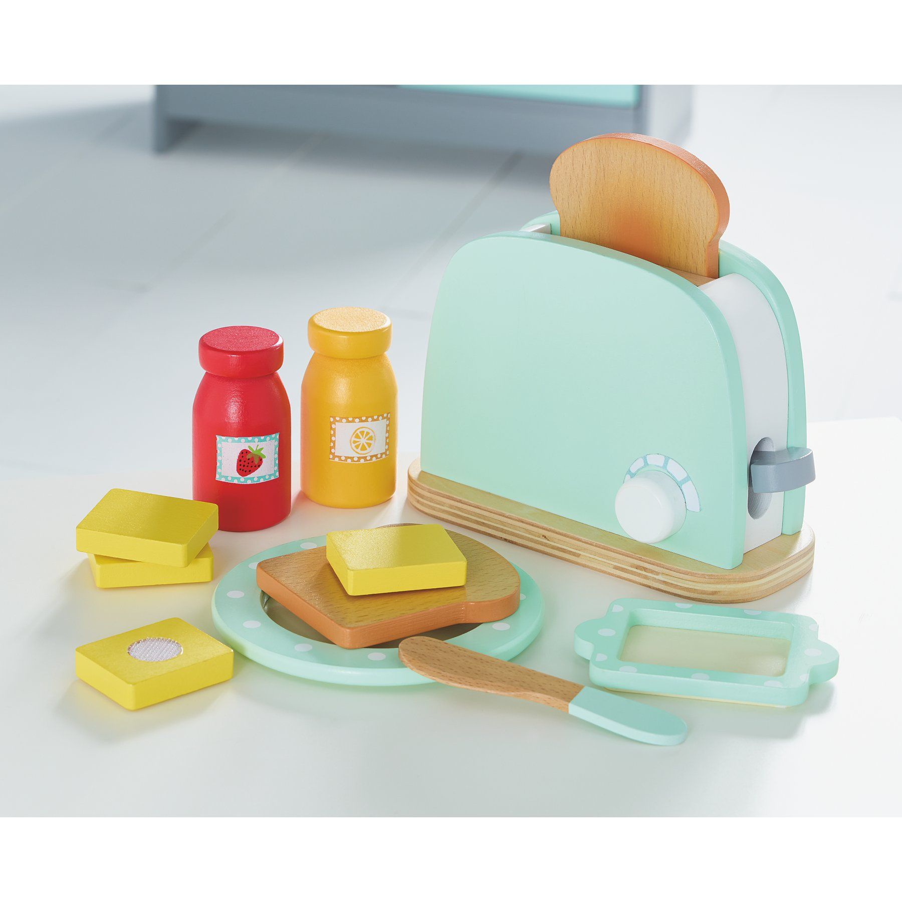 Home Wooden Toaster Toys & Character