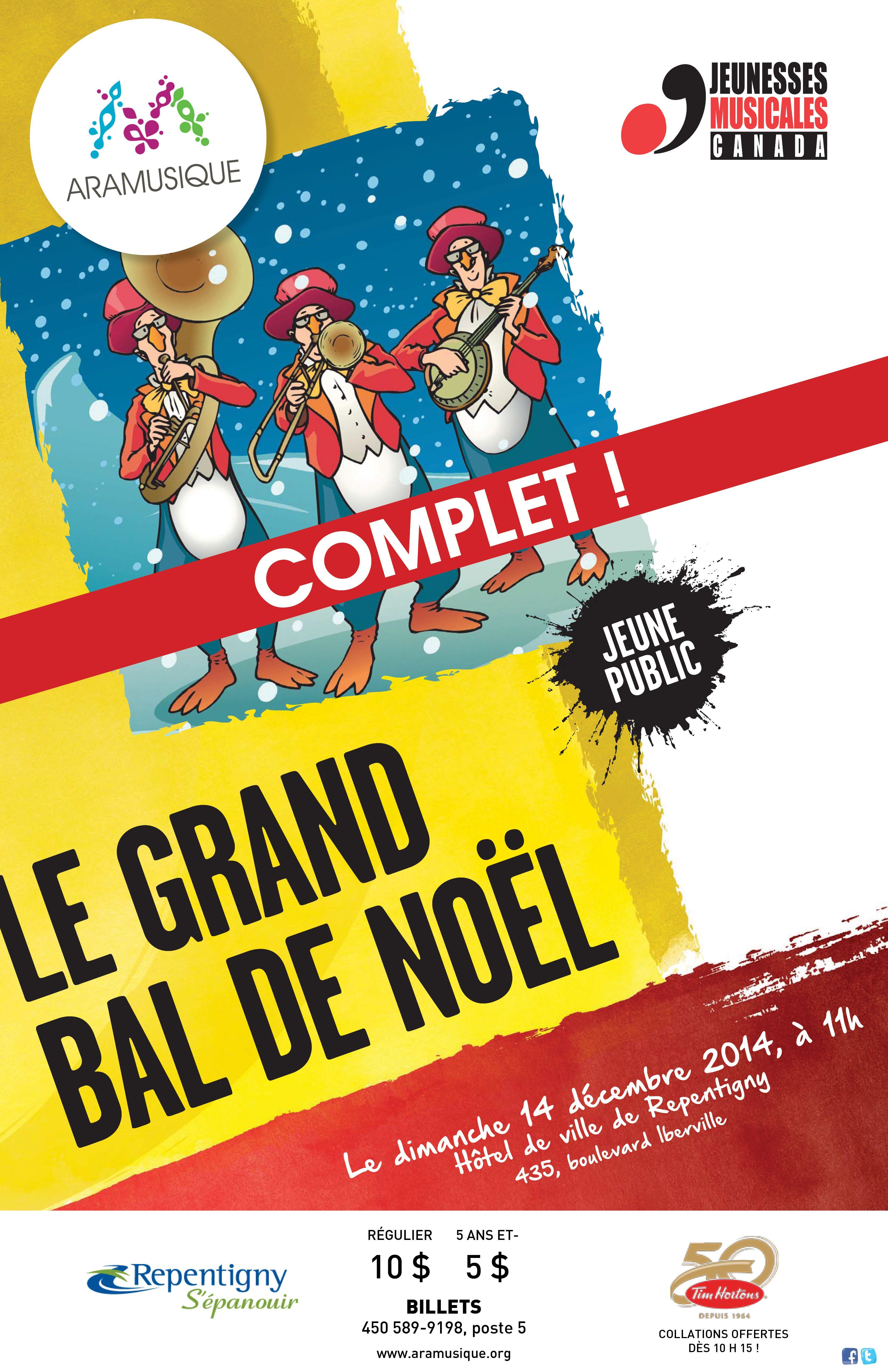 Le grand bal de Noël (COMPLET) | 14 décembre 2014