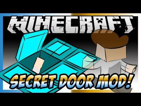 Minecraft Mod Showcase Secret Door Mod! [1.6.4]