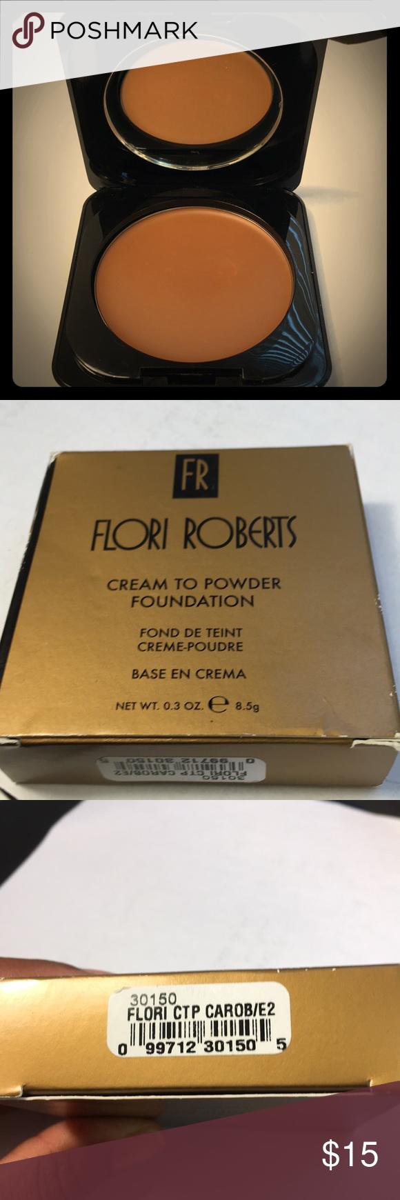Flori Roberts Cream to Powder Foundation Light weight