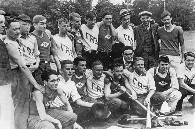 American baseball team in Moscow