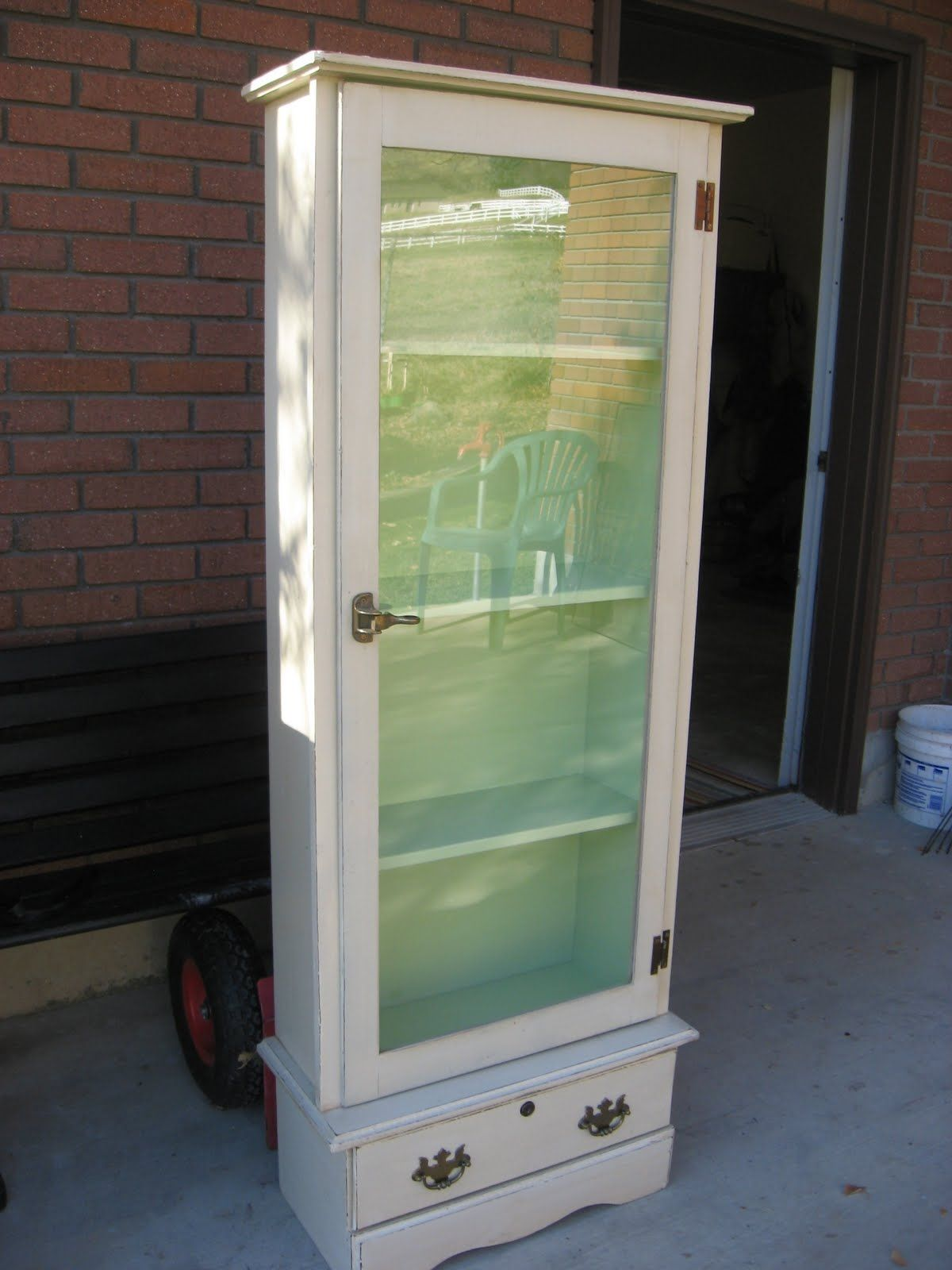 Tall Floor Cabinet With Glass Doors   http://advice-tips.com ...