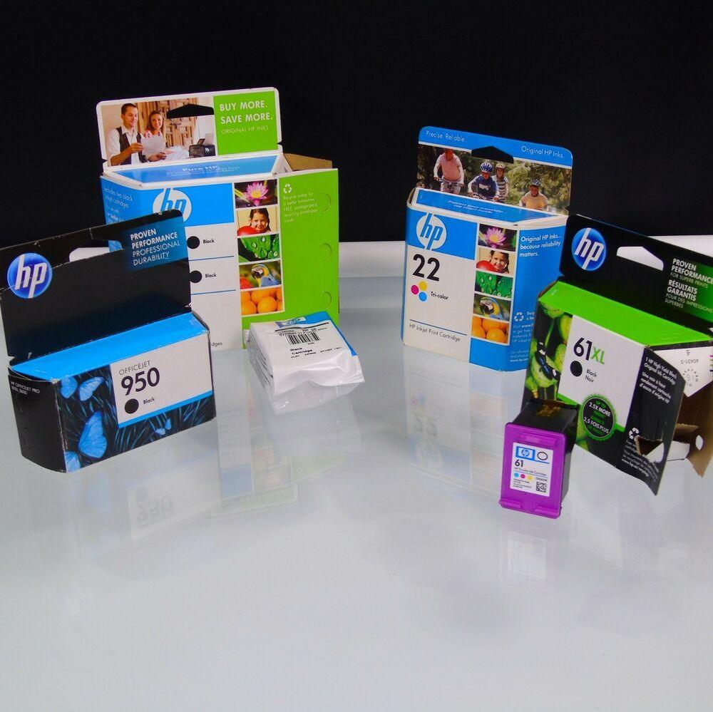 New HP 950xl black ink cartridge Genuine Not Expired